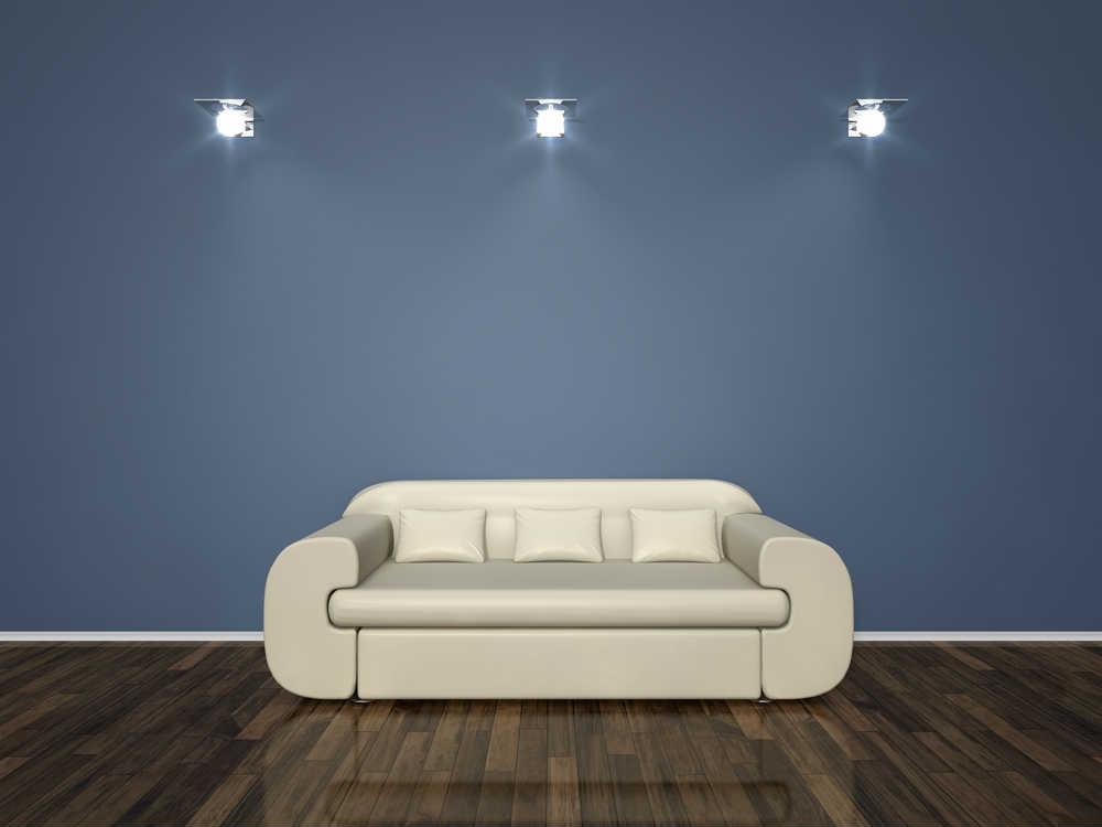 Blue Bold Living Room