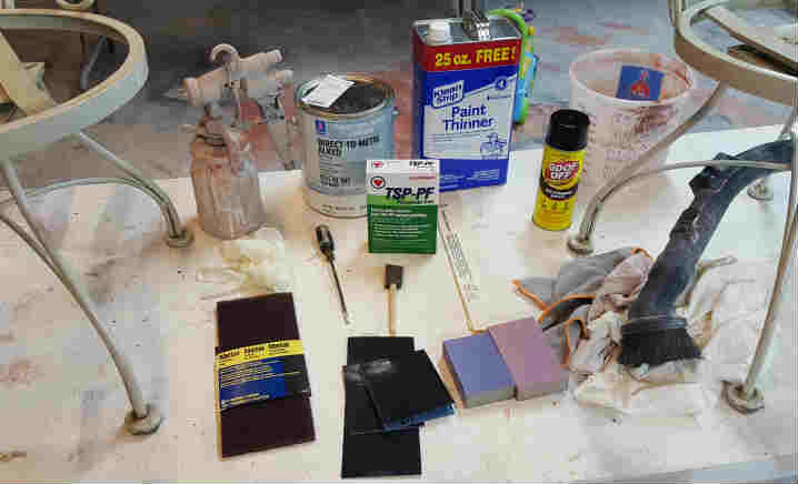 Patio Furniture Painting Supplies
