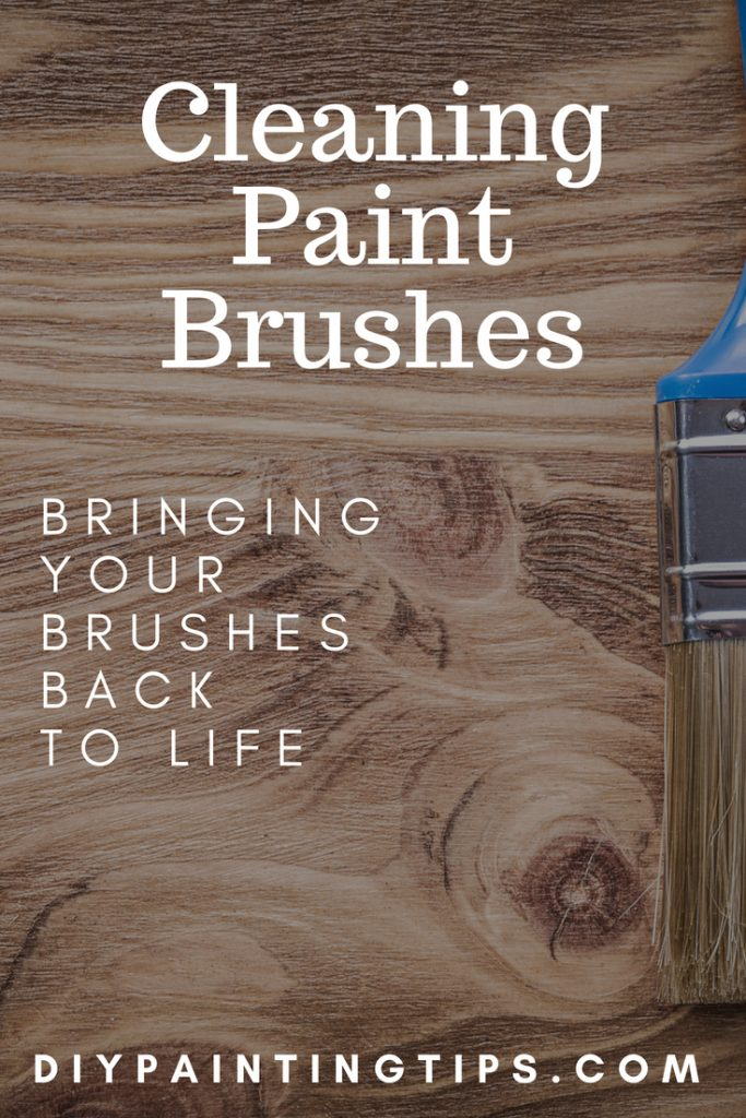 Pinterest Cleaning Paint Brushes