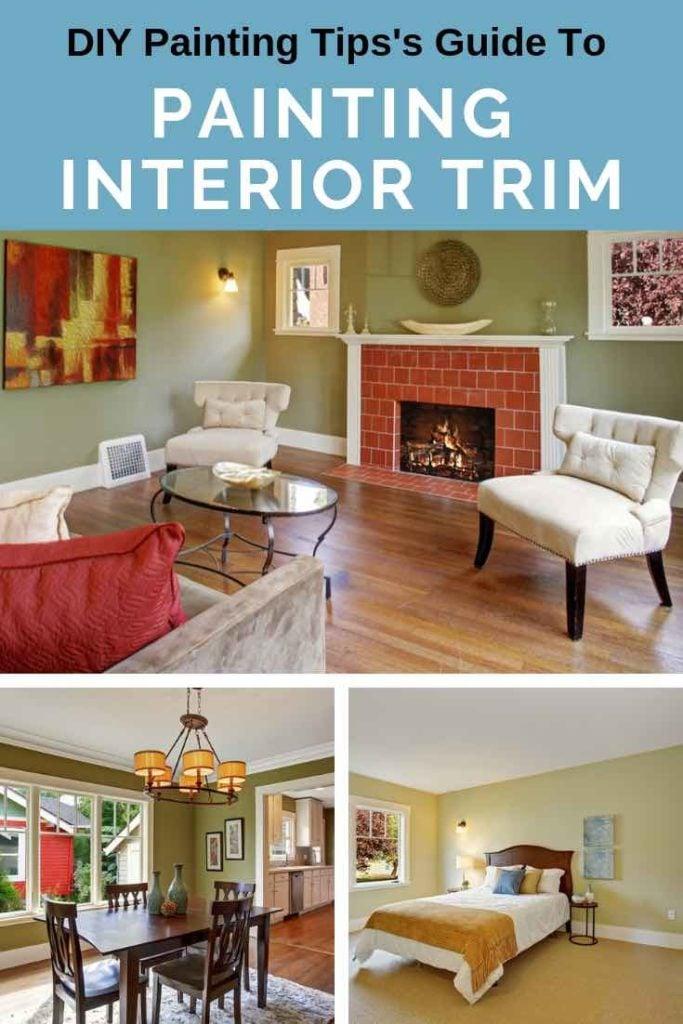 Interior Trim Painting Pinterest