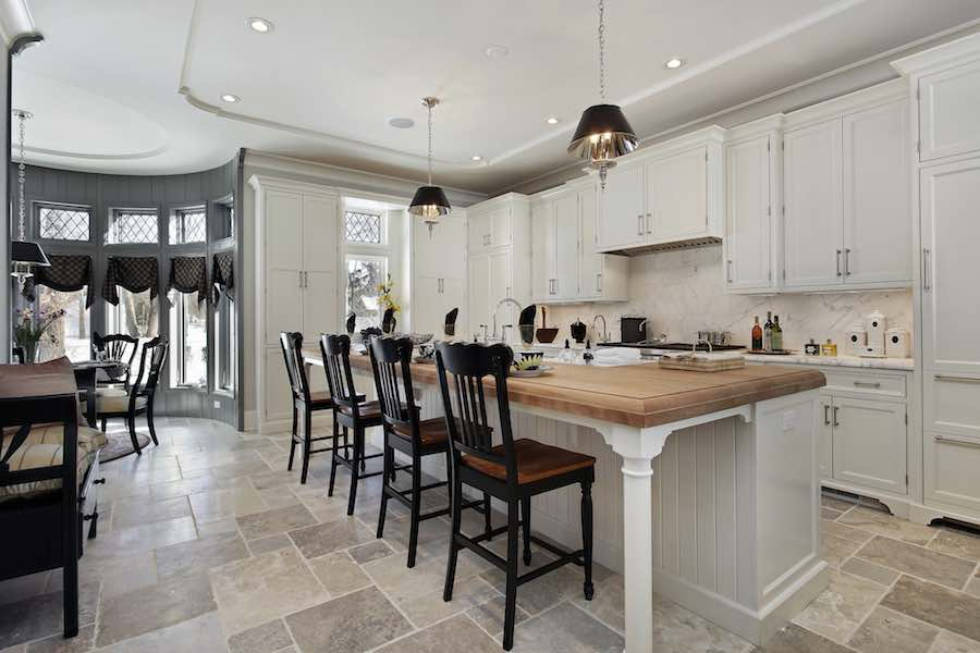 Luxury Painted Kitchen Cabinets