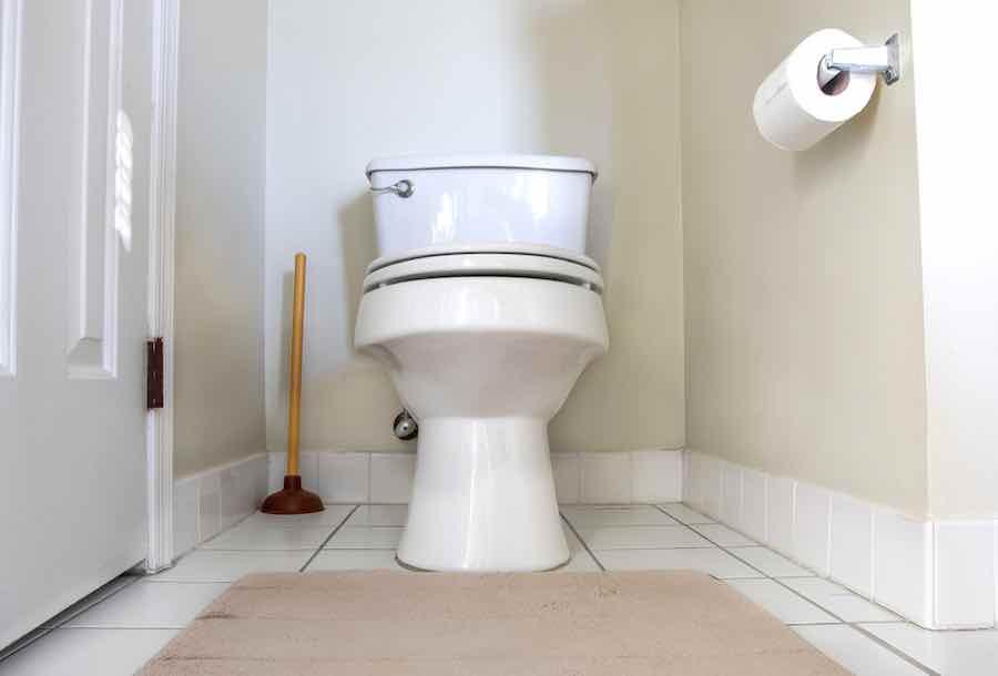 Paint Behind Toilet