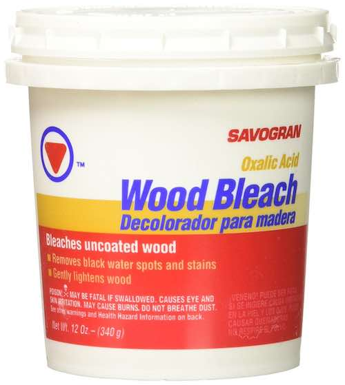 Oxalic Acid Wood Bleach