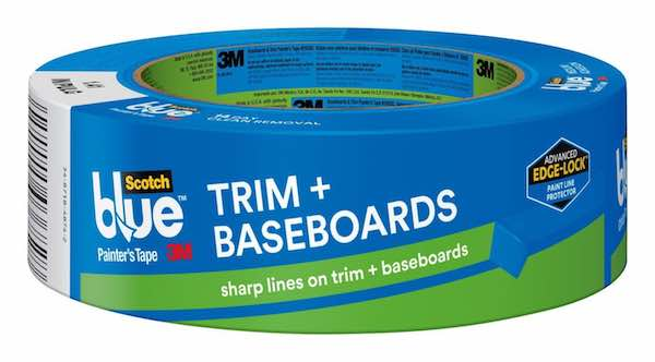 Scotch Blue Trim and Baseboard Painter's Tape