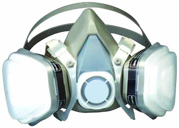 3M Disposable Half Face Paint Respirator