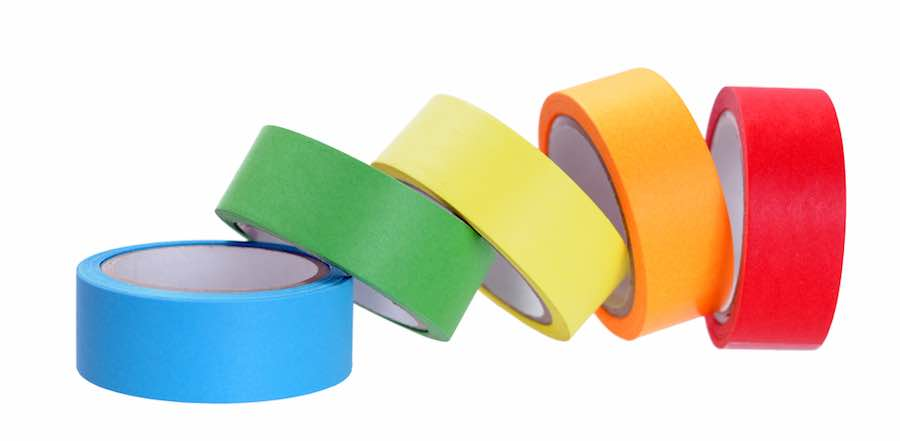 Black Painter's Tape and other colors