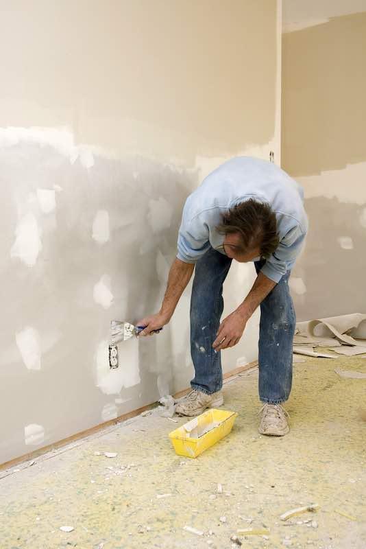 new drywall repair
