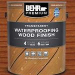Behr Waterproofing Wood Finish