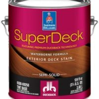 SuperDeck® Exterior Waterborne Semi-Solid Color Stain
