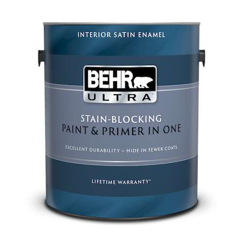 Behr Ultra - Best Bathroom Paint