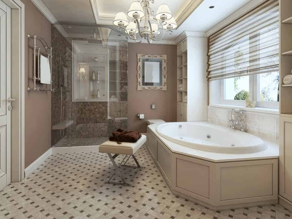 Beige Painted Bathroom - Best Bathroom Paint