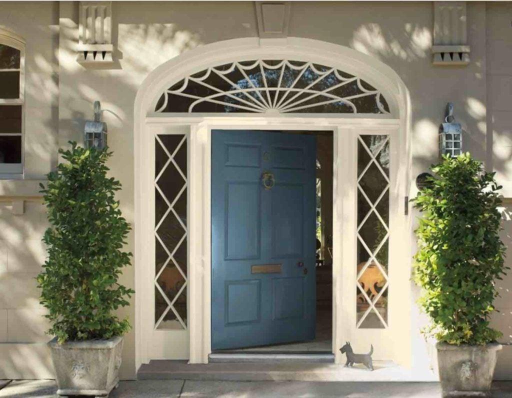 Vermont Slate Front Door