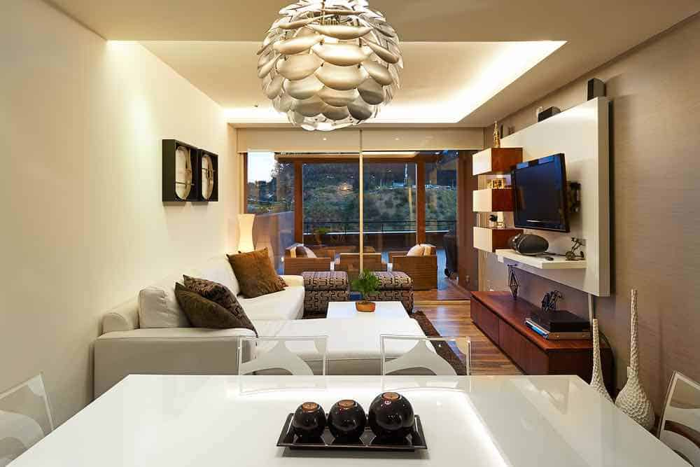 Modern Interior Using Beige