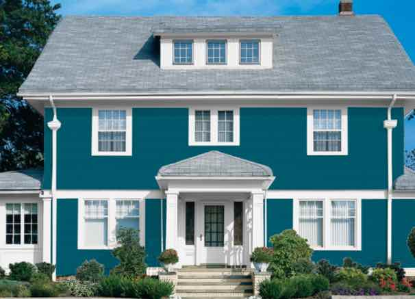 20 Popular Exterior House Colors for 2021 14