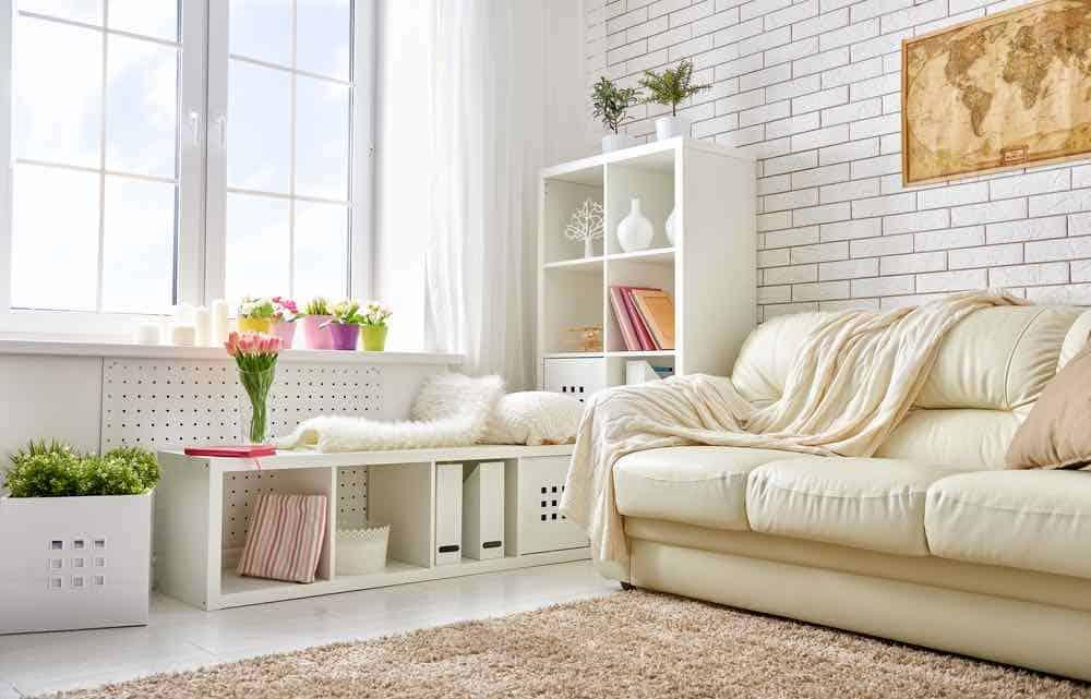 Light modern living room