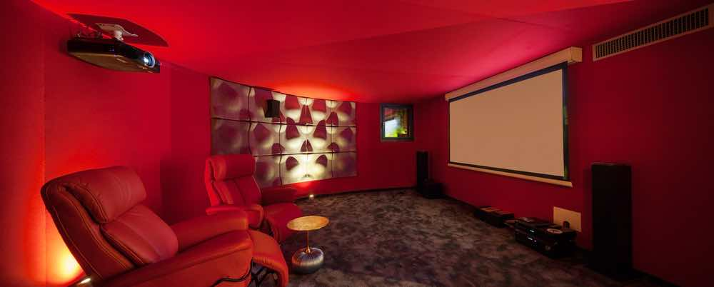 Red Theater Room