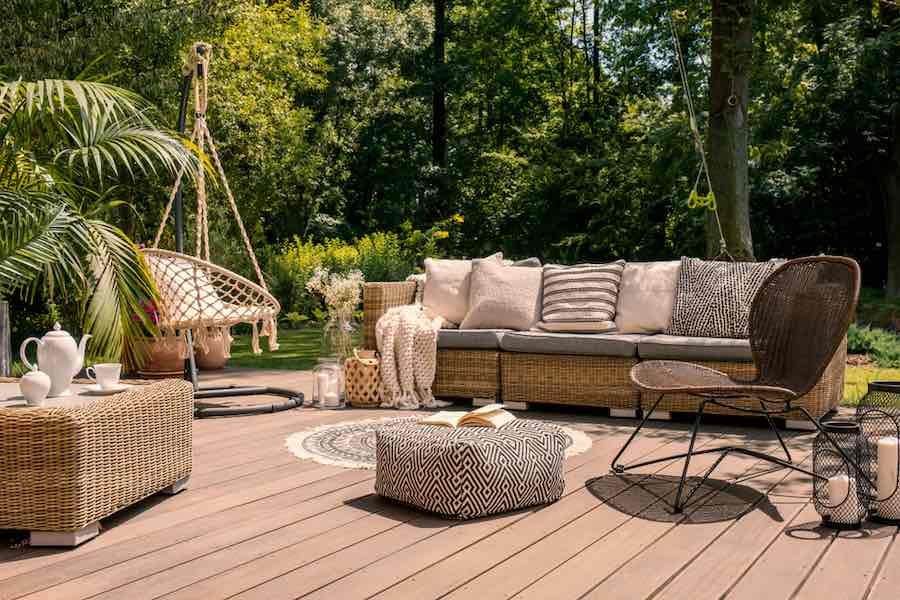 Best Deck Stain Colors: Canyon Brown