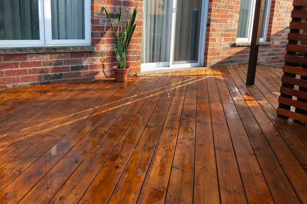 Light Walnut Deck Stain Color