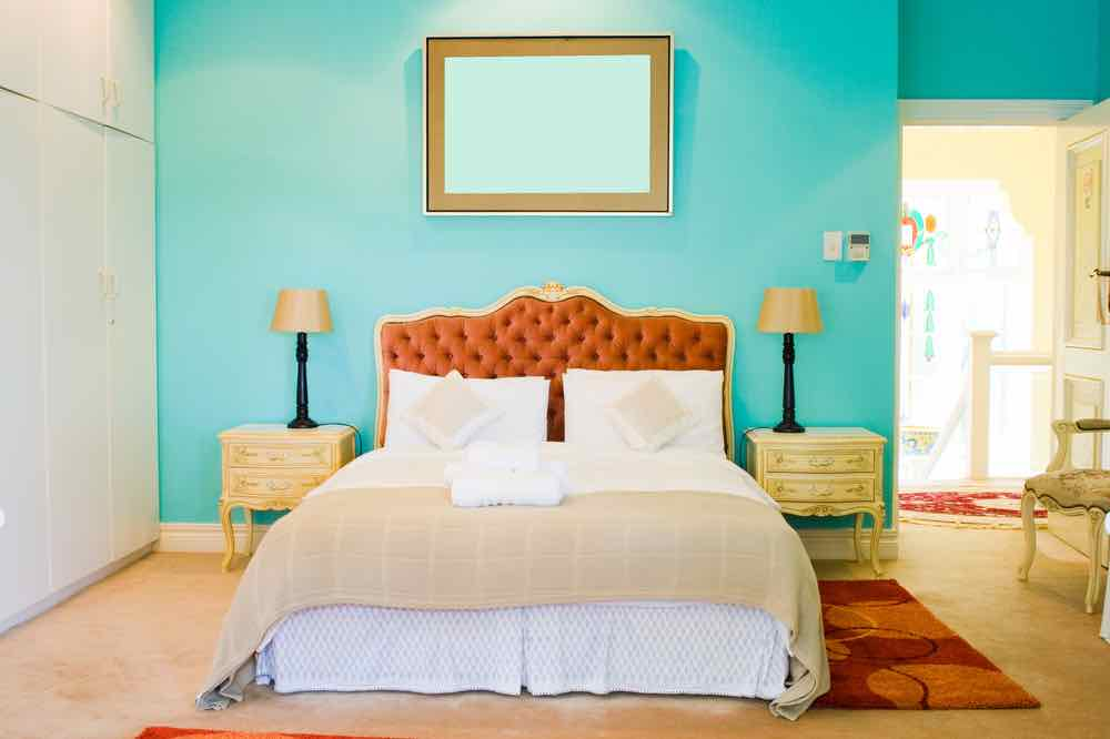 You can style tropical bedroom paint colors so many ways.