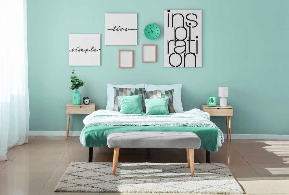 Tiffany blue is an instant shoe-in for the best paint colors for 2020.