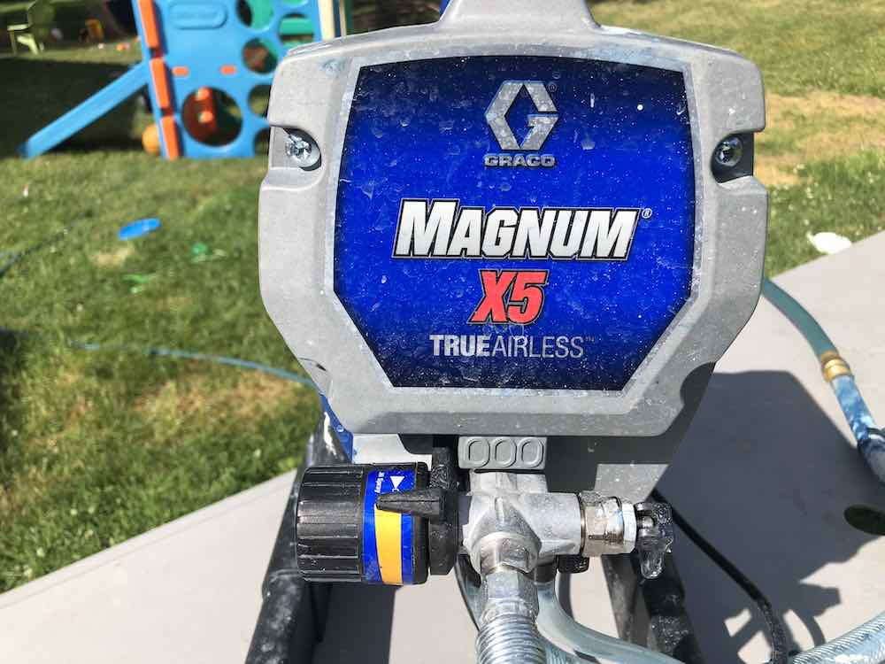 Graco Magnum X5 Front View
