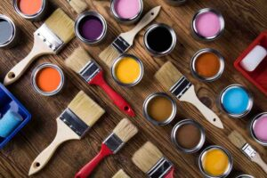 Learn about the best paint for cabinets, hybrid latex paint.