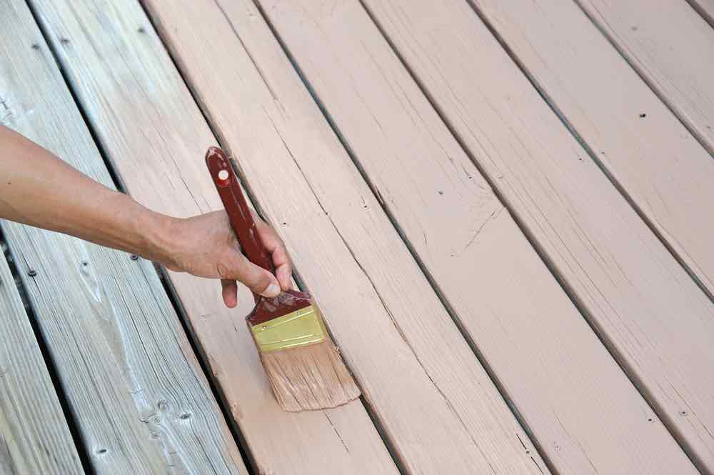 The best deck paint takes more effort to apply but will protect your deck against moisture and UV damage for years to come.