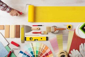 A good paint edger is an DIY painting tool kit essential.