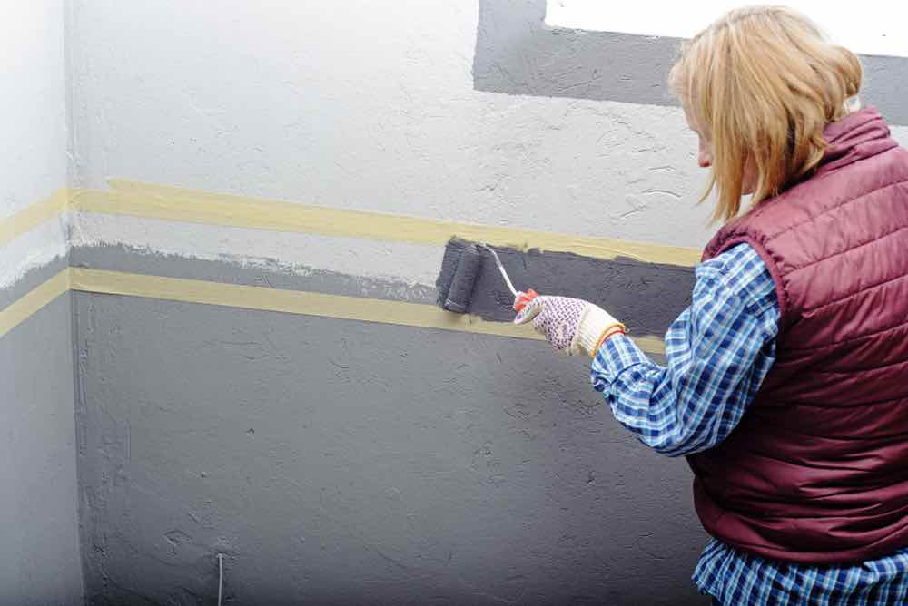 Look for paints with mildew and mold resistance for the best paint for garage walls.