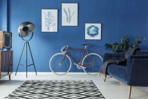 Blue Trendy Paint Color