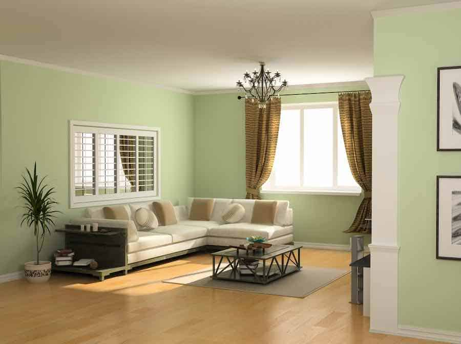 Green Interior Paint: Coastal Paint Colors