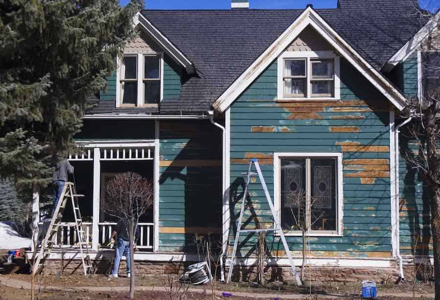 Exterior Painting On Victorian Home
