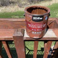 Behr Deck Stain - Semi Transparent
