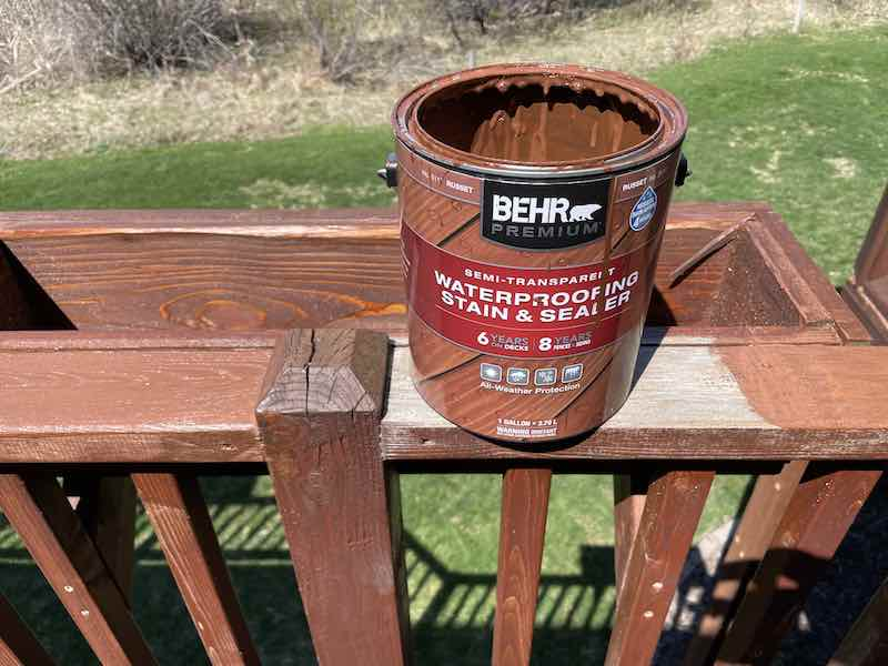 Behr Deck Stain - Semi Transparent