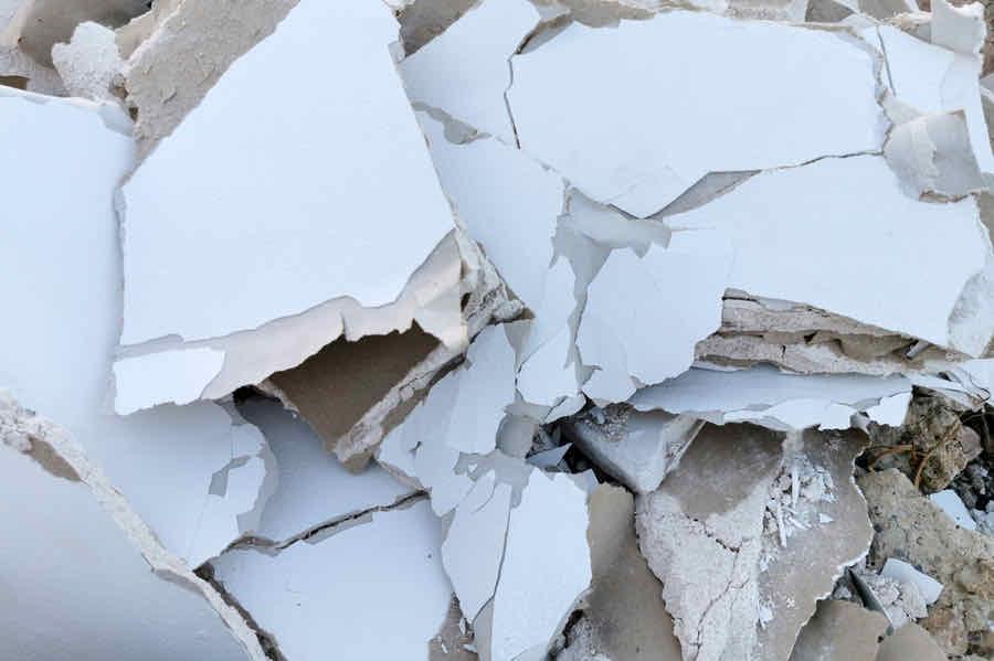 sledgehammer drywall removal